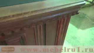 видео Письменные столы из массива