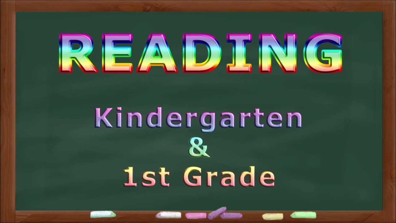 hight resolution of Reading Practice for Kindergarten and First Grade 1 - YouTube