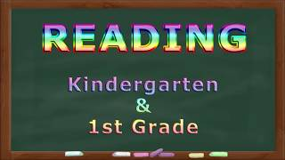 Reading Practice for Kindeŗgarten and First Grade 1