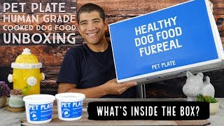Pet Plate Dog Food Unboxing - What's Inside The Box