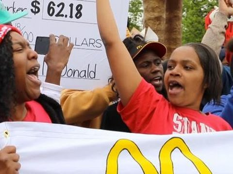 Protesters Target McDonald's Headquarters