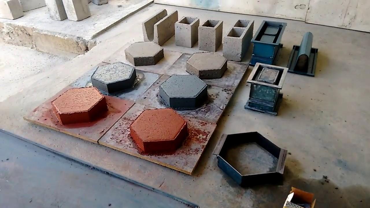 Como fazer piso de concreto colorido pavers ou for Pigmento para cemento