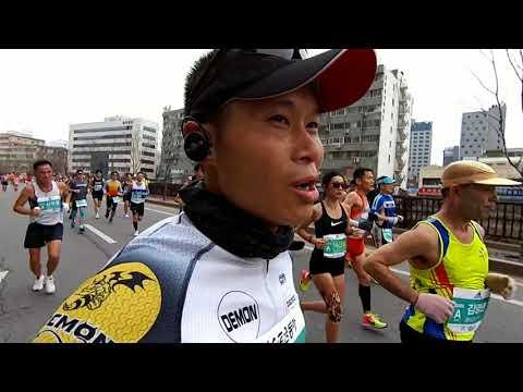 2018 Seoul marathon running from start to finish
