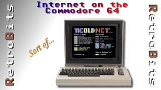 Browsing the Internet on a Commodore 64 with The Old Net BBS