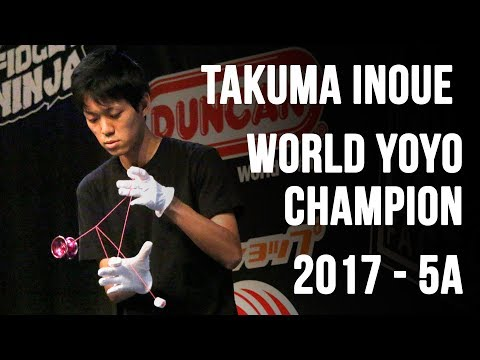 Takuma Inoue - 5A Final - 1st Place - World Yoyo Contest 2017