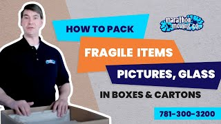 How To Pack Fragile Items In Boxes & Cartons Like a PRO | Marathon Moving 7813003200