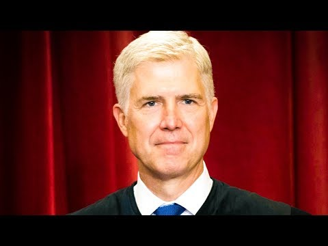 Neil Gorsuch Is A Total Ass, Proves It With Smug Rhetoric