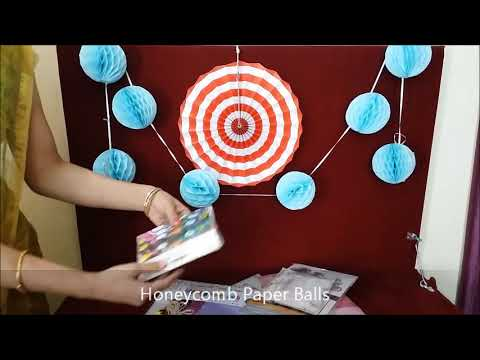 Various DIY Paper Decoration Articles