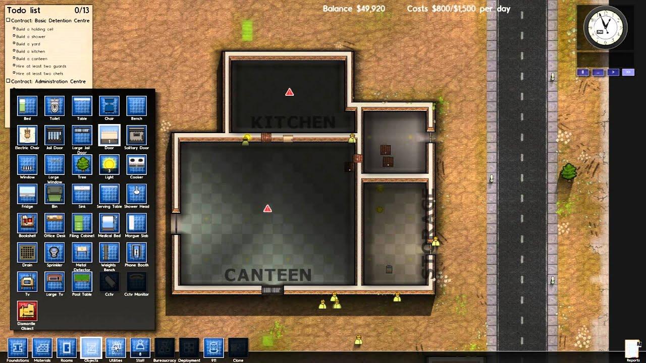 Lets Play Prison Architect Part 1