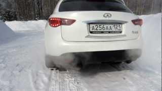 INFINITI FX 50 S exhaust