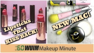 Makeup Minute | Lancome LIP SHAPED LIPSTICKS! + NEW Steve-J and Yoni-P MAC COLLAB!