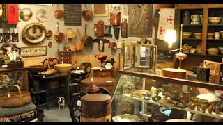 Antique Faire & Flea Market Haul + Goodwill - Home Decor - Milk glass