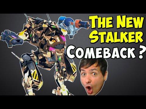 The New Stalker Comeback? War Robots Test Server 4.5 Gameplay - WR