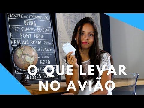 8 ITENS ESSENCIAIS PARA LEVAR NO AVIÃO