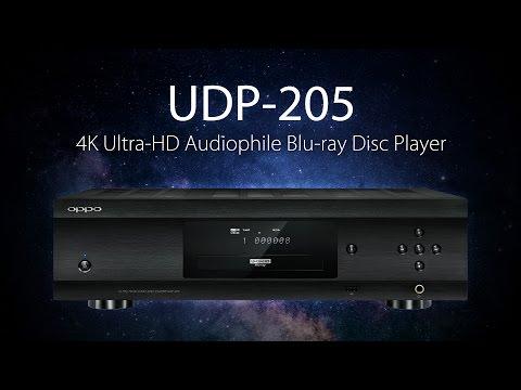 UDP-205 4K Ultra-HD Audiophile Blu-ray Disc Player - OPPO Digital