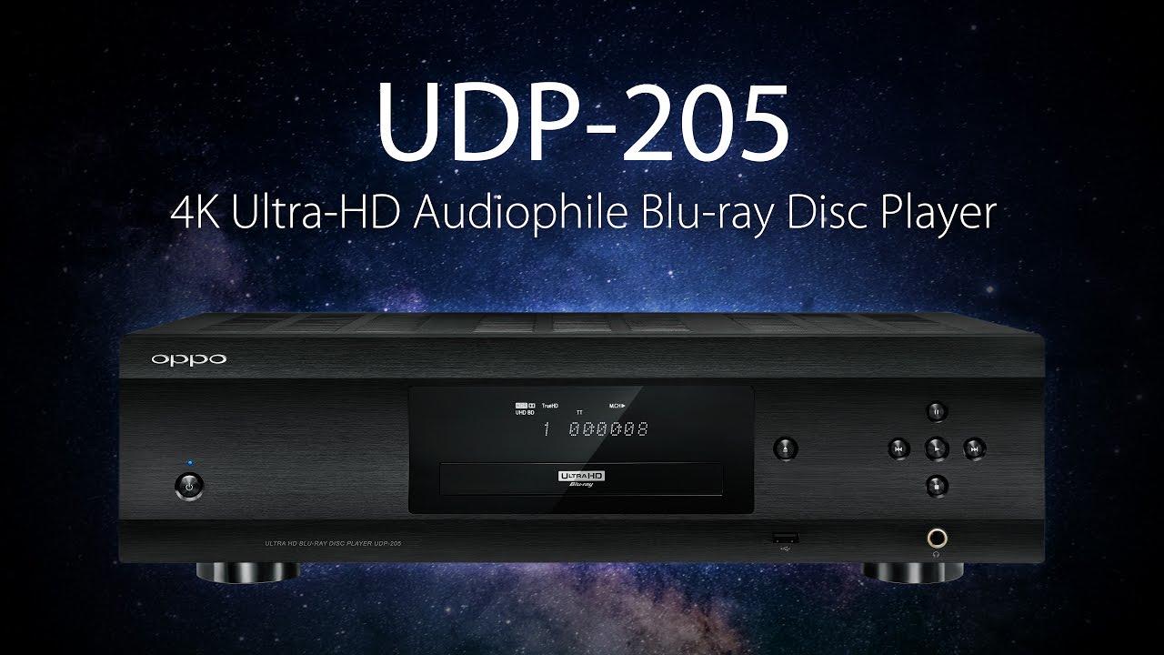 Udp 205 4k Ultra Hd Audiophile Blu Ray Disc Player Oppo Digital Youtube