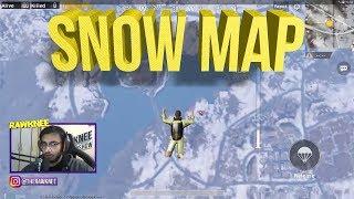 PUBG MOBILE SNOW MAP (VIKENDI) FIRST MATCH CHICKEN DINNER