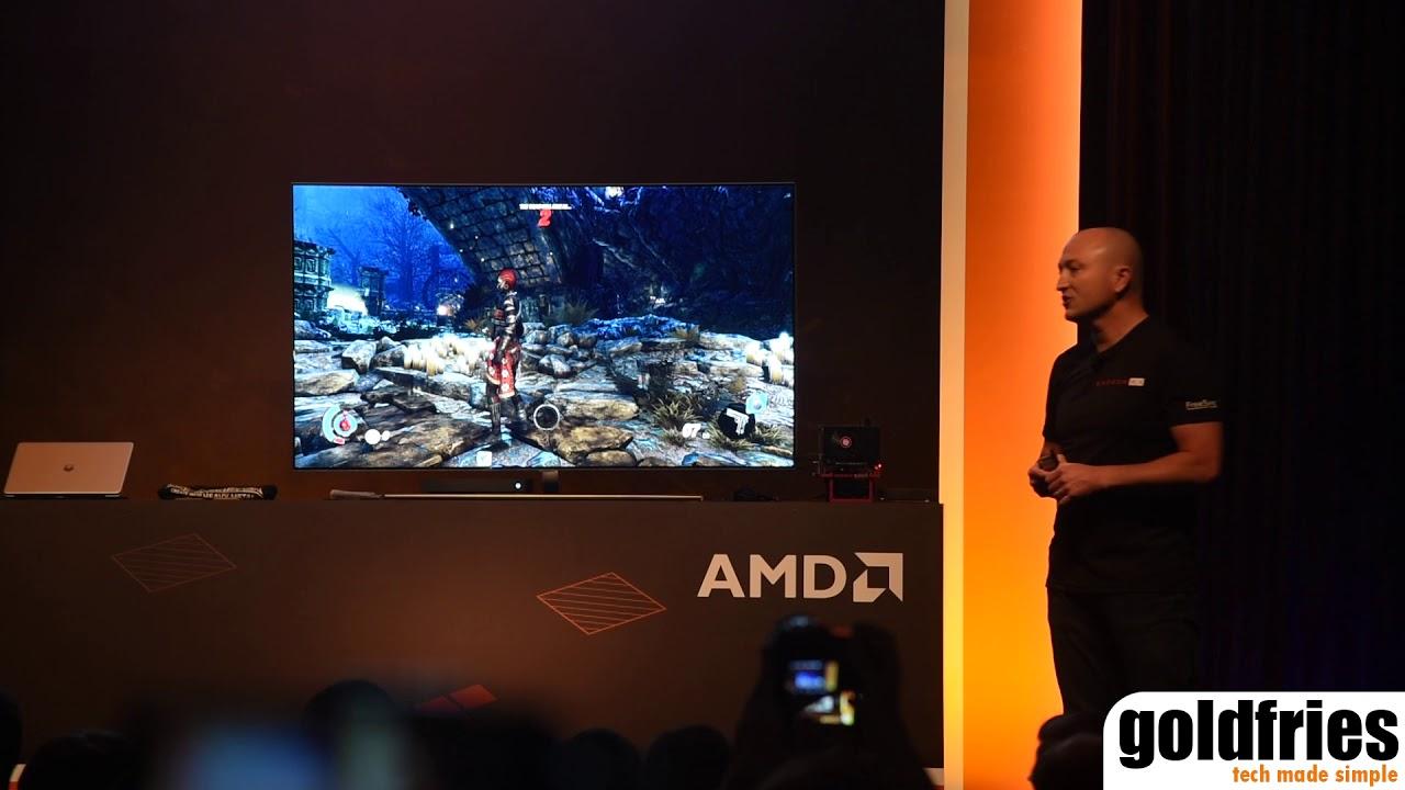 PowerColor Radeon RX Vega56 Nano and Samsung TV with FreeSync Support at  Computex 2018