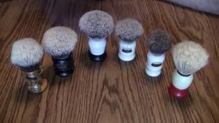 Badger Shaving Brushes What