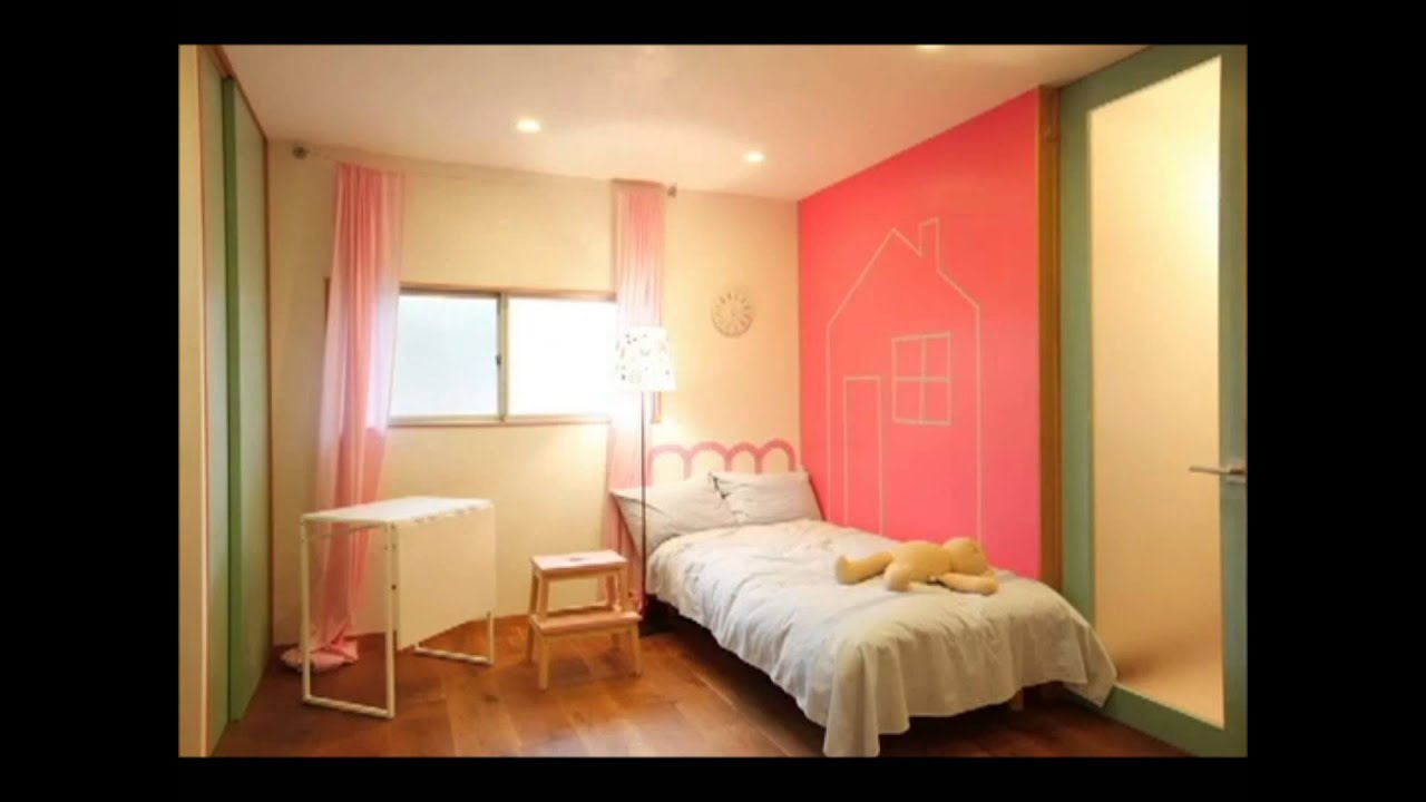 d corer une chambre d 39 enfant avec le masking tape casa youtube. Black Bedroom Furniture Sets. Home Design Ideas