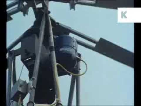 1980s Wind Power Prototypes, Renewable Energy, Archive Footage