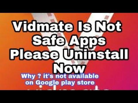 Vidmate App is Not Safe . Please Uninstall...