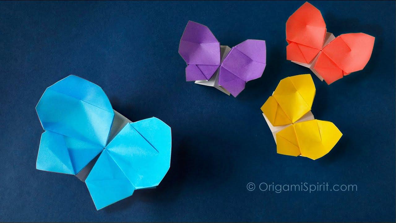 Papercraft Origami Butterfly-Box :: Caja Mariposa