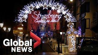 4 dead in shooting near Strasbourg Christmas market in France