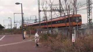 2018冬8  近鉄電車14+  橿原線ファミリー公園前・12/30追加分