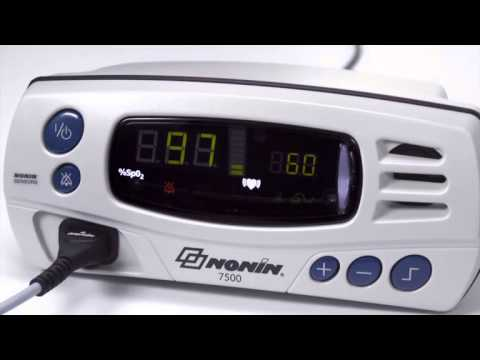 nonin-7500/7500fo-pulse-oximeter:-use/programming