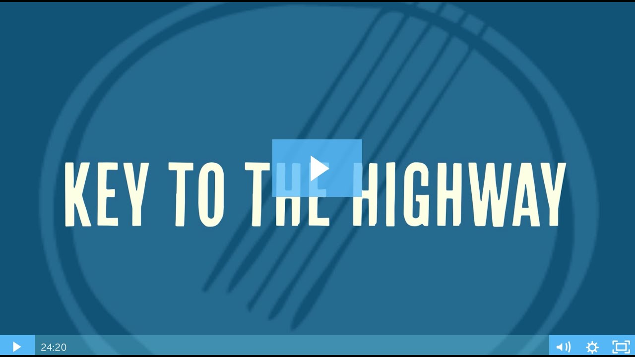Key to the Highway - Clawhammer Banjo Blues [lesson + tablature]