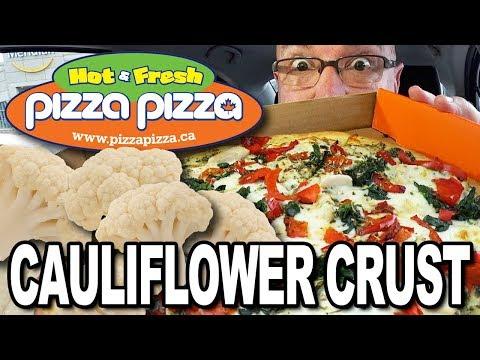 Cauliflower Crust Pizza 🍕 From Pizza Pizza 🍕 #ShareTheMoment