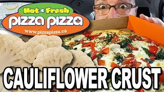 Cauliflower Crust Pizza 🍕 from Pizza Pizza 🍕 #ShareTheMoment