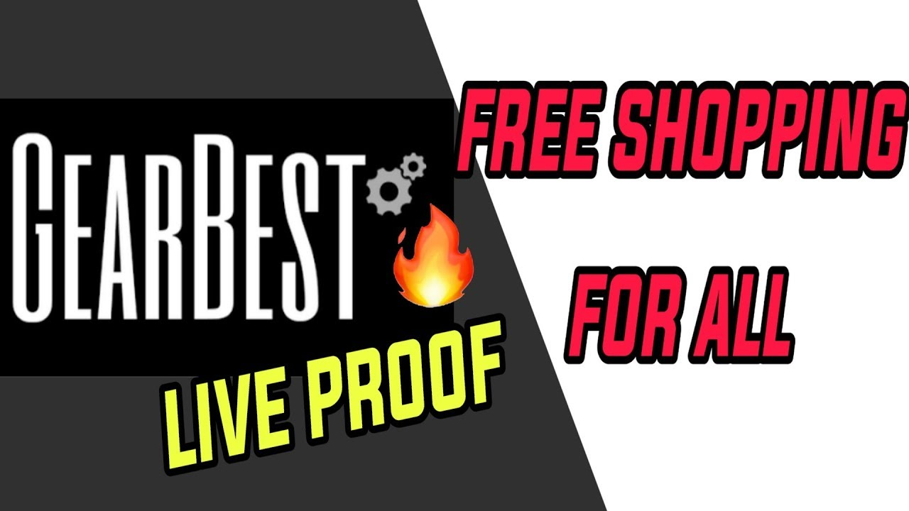 HOW TO ORDER FREE PRODUCTS FROM GEARBEST