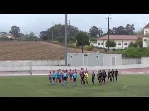 Juvenis: Águias Alpiarça 6-2 Estrela FC Ouriquense (1ª parte)