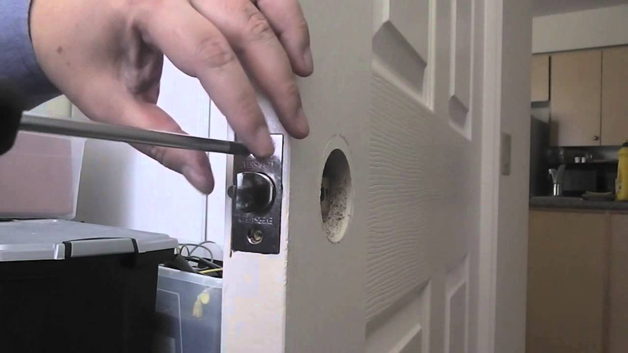 Unboxing U0026 Installing A Keyed Entry Door Knob (ASMR)   YouTube
