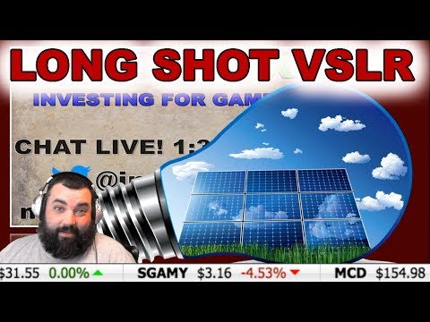*LONG SHOT INVESTING * VIVINT SOLAR INC ~Investor XP~