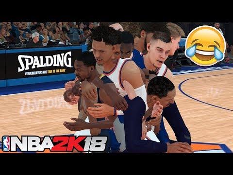 NBA 2K18 Glitches & Funny Moments