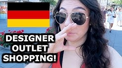 CRAZY DESIGNER SHOPPING IN METZINGEN - TRAVEL VLOG 390 GERMANY | ENTERPRISEME TV