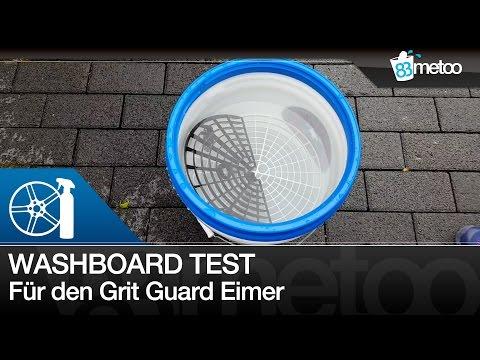Grit Guard Washboard Test und Deckel für den Wascheimer | 83metoo