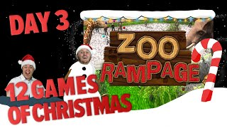 Day 3 - 12 Games of Christmas - Zoo Rampage