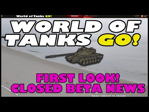 World Of Tanks GO! - First Look & Closed Beta News