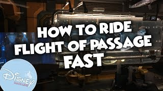 How To Ride Avatar's Flight of Passage FAST In Disney World!