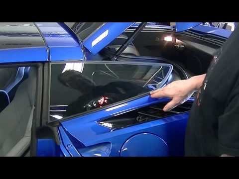 How To Install An American Car Craft C7 Corvette Rear Quarter Panel Laser Mesh Grille