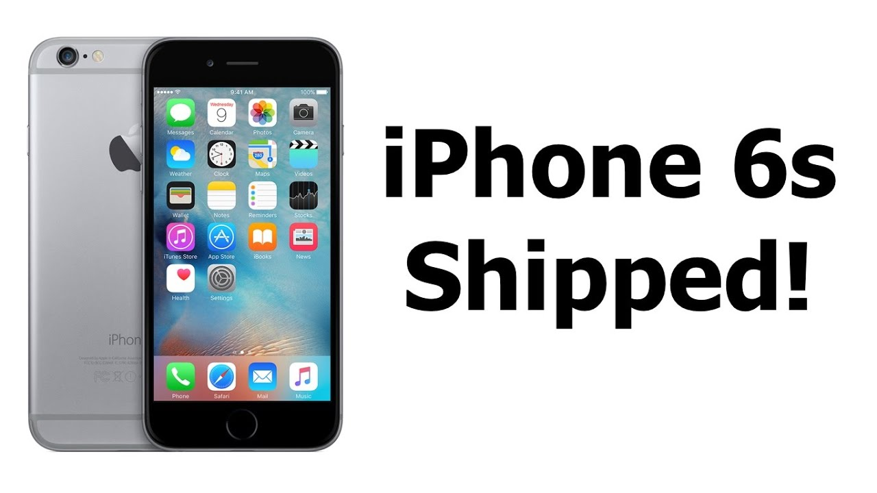 Iphone Bestellen My Iphone 6s Has Shipped Iphone 6s Pre Order Review Youtube