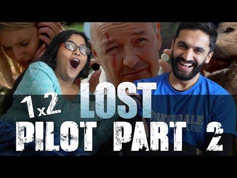 Lost - 1x2 Pilot, Part 2 - Nikki Reacts!