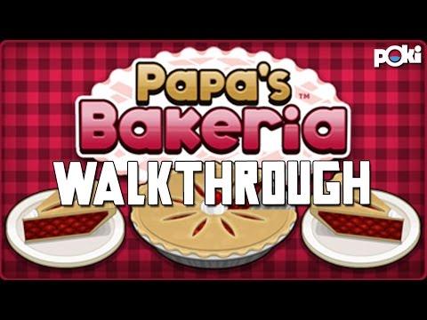 Baking Pie's! Papa's Bakeria Poki Walkthrough! - 동영상