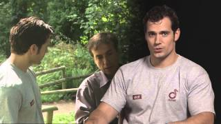Henry Cavill at Durrell Wildlife Park