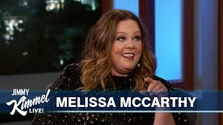 Melissa McCarthy on Super Creepy Date & The Little Mermaid