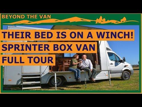 Sprinter VAN TOUR - Box Van - Incredible Design!